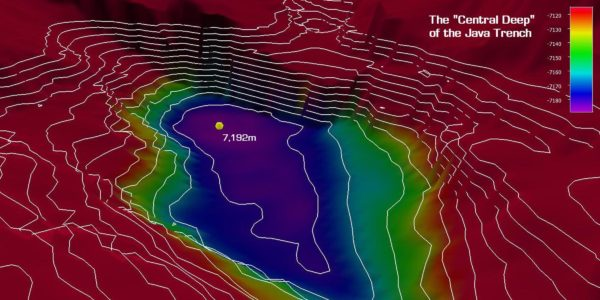 The Deepest Point in the Java Trench and Indian Ocean