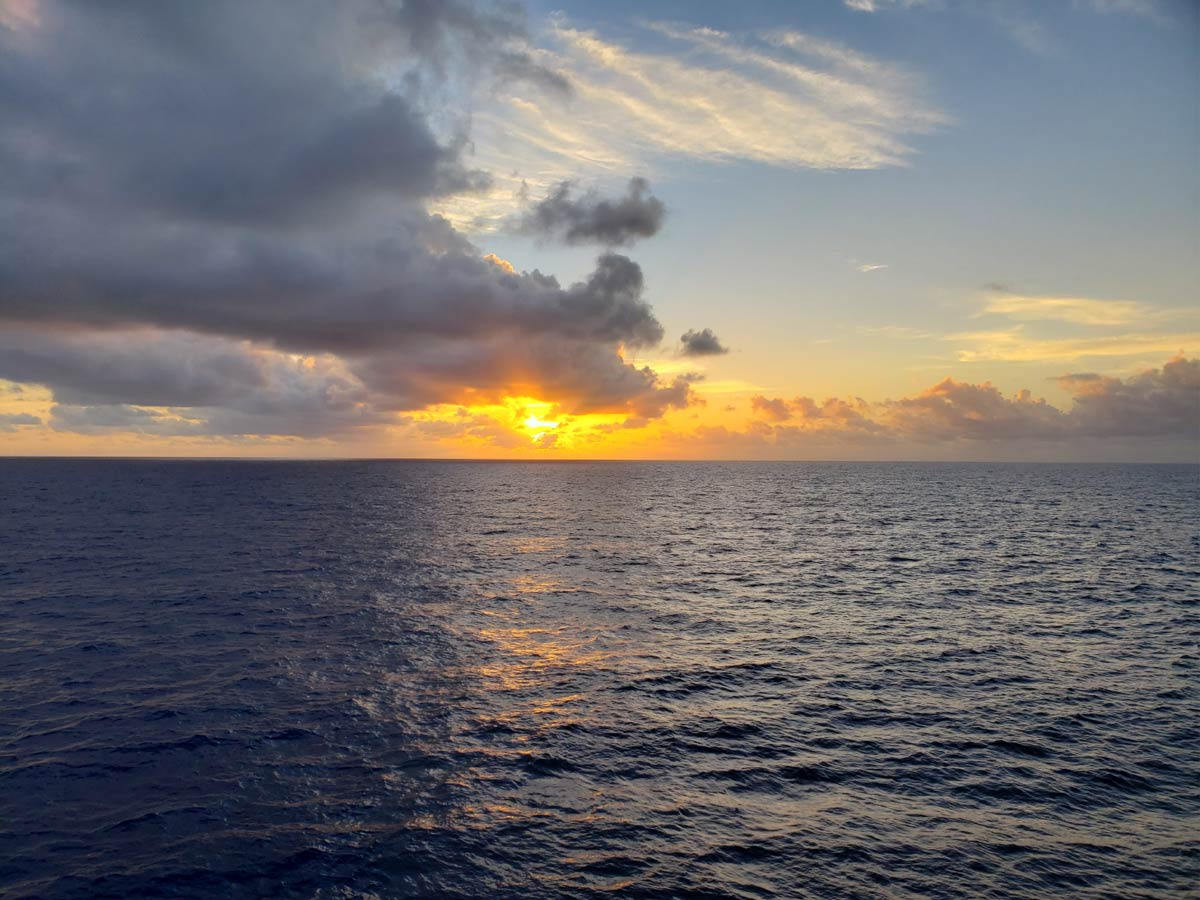 Western Pacific Sunset