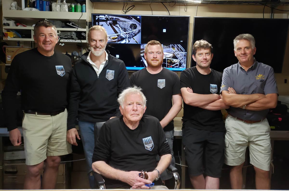 The Challenger Deep Team - Five Deeps Expedition